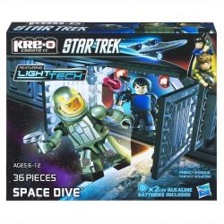 KRE-O A3138 3138 Xếp hình kiểu Lego SPACE Space Dive Construction Set Space Tour Du Hành Vũ Trụ 36 khối