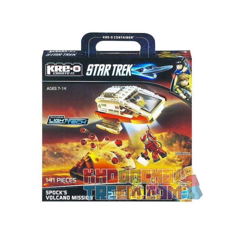 KRE-O A3139 3139 Xếp hình kiểu Lego Spock's Volcano Mission Construction Set Schopath's Volcanic Task Nhiệm Vụ Núi Lửa Của Spock 141 khối
