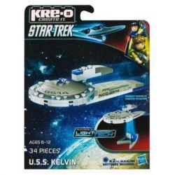 KRE-O A3370 3370 Xếp hình kiểu Lego U.S.S. Kelvin Construction Set U.S.S. Kairen Hoa Kỳ Kairen. 34 khối