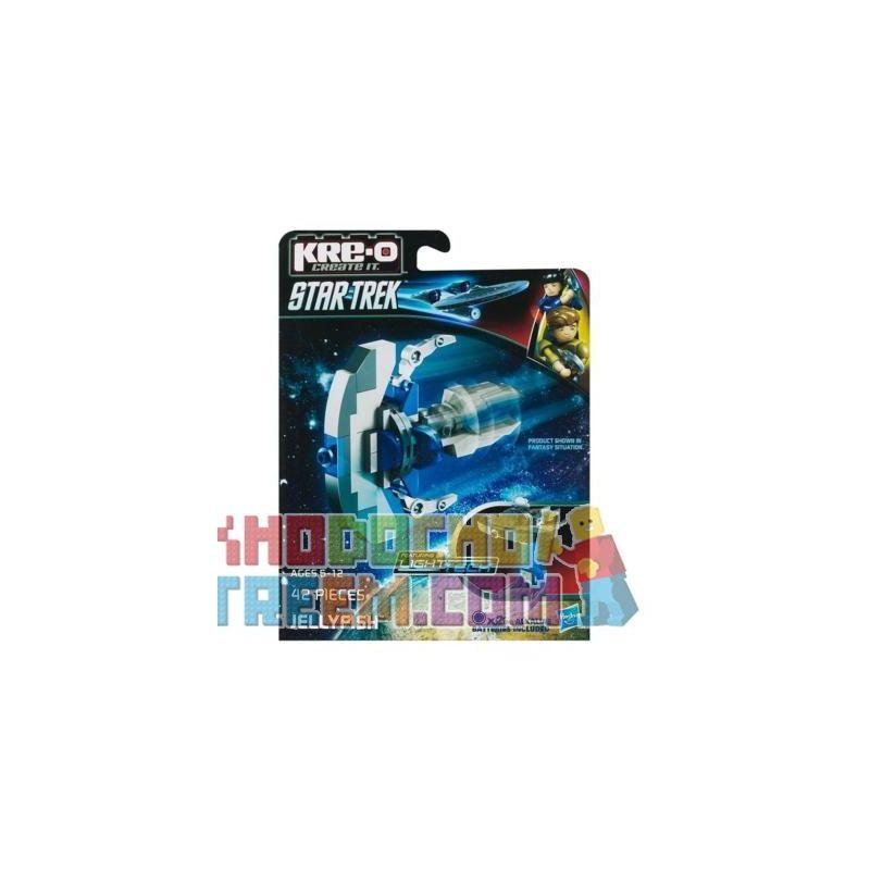 KRE-O A3371 3371 Xếp hình kiểu Lego Jellyfish Construction Set Jellyfish Spacecraft Tàu Vũ Trụ Sứa 42 khối