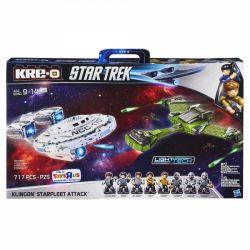 KRE-O A4879 4879 Xếp hình kiểu Lego Klingon Starfleet Attack Clin Gongxing Ship Tàu Gongxing Clin. 717 khối