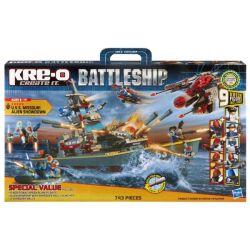 KRE-O A0989 0989 Xếp hình kiểu Lego MILITARY ARMY USS Missouri Alien Showdown The Battleship USS Missouri Alien Decisive Battle Trận Chiến Với Người Ngoài Hành Tinh USS Missouri 743 khối