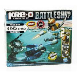 KRE-O 38952 Xếp hình kiểu Lego MILITARY ARMY The Battleship Ocean Attack Dương Phạm 66 khối