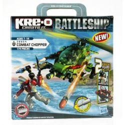 KRE-O 38954 Xếp hình kiểu Lego MILITARY ARMY Combat Chopper The Battleship Fight Helicopter Trực Thăng Chiến đấu 174 khối