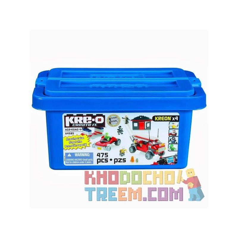 KRE-O A4585 4585 Xếp hình kiểu Lego Rescue Vehicle Value Bucket Giá Trị Xe Cứu Hộ 475 khối