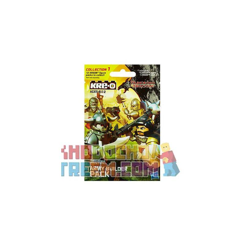 KRE-O A6735 6735 Xếp hình kiểu Lego GAMES Army Builder Pack {Blind Pack} Dragon And Dungeon Military Build Bag (blind Bag) Gói Xây Dựng Quân đội (Gói Mù)
