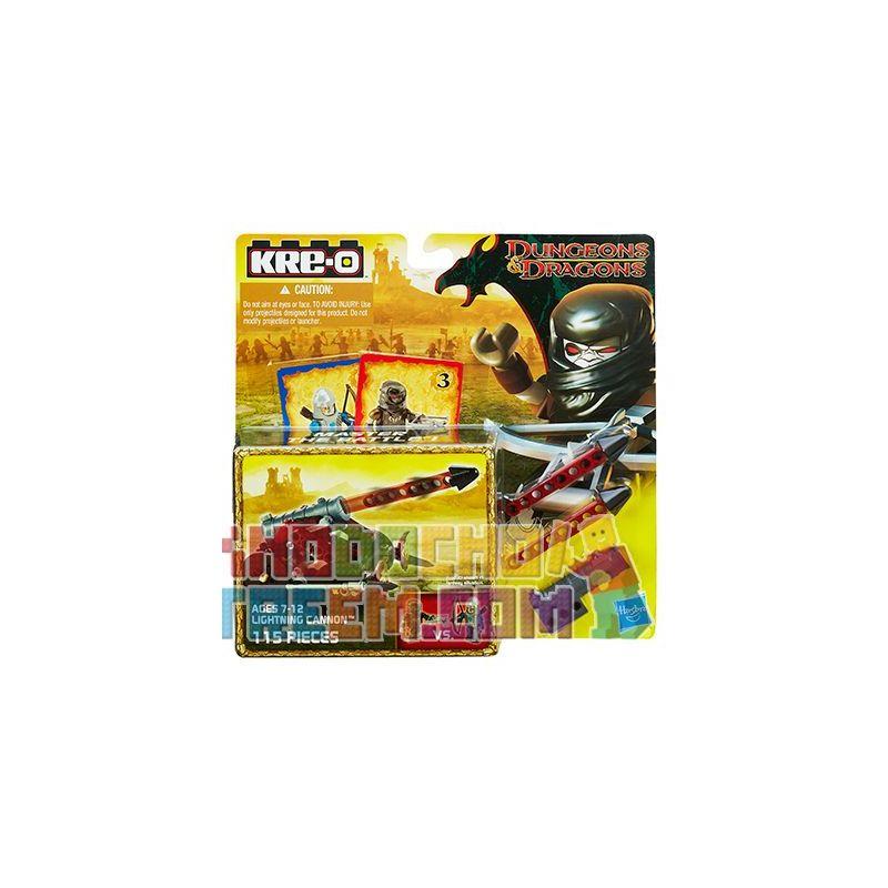 KRE-O A6737 6737 Xếp hình kiểu Lego GAMES Wallbreaker Javelin Dragon And Dungeon Broken City Gun Gãy Súng Thành Phố. 115 khối