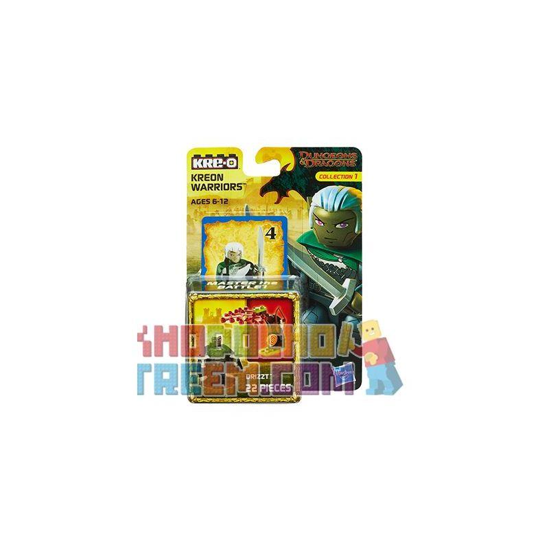 KRE-O A7710 7710 Xếp hình kiểu Lego GAMES Drizzt Dragon And Dungeon Drizz. 22 khối