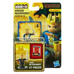 KRE-O A7712 7712 Xếp hình kiểu Lego GAMES Dragon And Dungeon Lord Neveremember Lord Neveremember. 27 khối