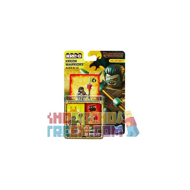KRE-O A7714 7714 Xếp hình kiểu Lego GAMES Eye Of Gruumsh Dragon And Dungeon Kirrog's Eyes Mắt Của Kilrogg 32 khối
