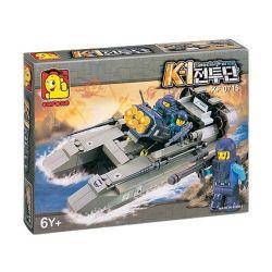 OXFORD KF15000 15000 Xếp hình kiểu Lego MILITARY ARMY Hovercraft Thủy Phi Cơ