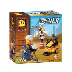 OXFORD MC0825-1 0825-1 Xếp hình kiểu Lego CITY Heavy Equipment Thiết Bị Nặng