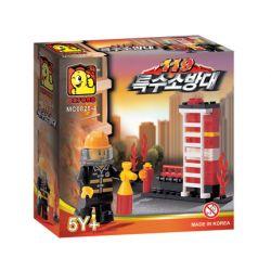 OXFORD MC0825-4 0825-4 Xếp hình kiểu Lego CITY 119 Special Fire Brigade 119 Fire Truck 119 Xe Cứu Hỏa