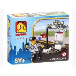 OXFORD MC2000-4 2000-4 Xếp hình kiểu Lego CITY Policemen Cảnh Sát