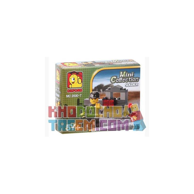 OXFORD MC2000-7 2000-7 Xếp hình kiểu Lego MILITARY ARMY Soldier Lính
