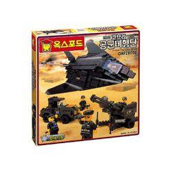 OXFORD OAF28000 28000 Xếp hình kiểu Lego MILITARY ARMY Stealth Fighter F-117A F-117A Invisible Fighter Máy Bay Chiến đấu Tàng Hình F-117A