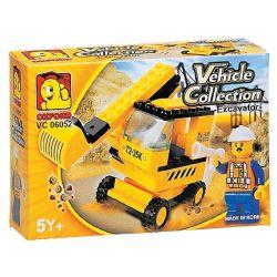 OXFORD VC06052 06052 Xếp hình kiểu Lego CITY Excavator Máy Xúc 56 khối