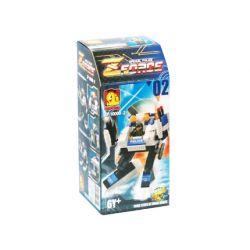 OXFORD ZF10000-2 10000-2 Xếp hình kiểu Lego ZForce 2 Zforce 2.