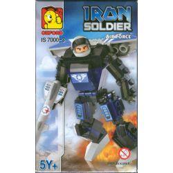 OXFORD IS7000-3 7000-3 Xếp hình kiểu Lego Iron Soldier Air Force Steel Soldier Air Force Lực Lượng Lính Thép