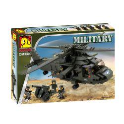 OXFORD OM3303 3303 Xếp hình kiểu Lego MILITARY ARMY Transport Chopper Transport Helicopter Trực Thăng Vận Tải 328 khối