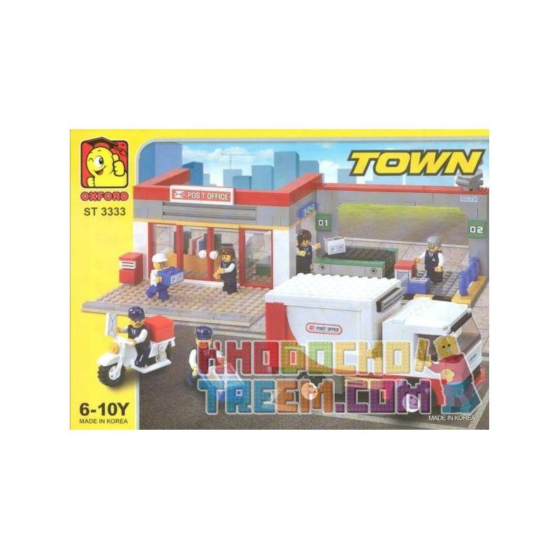 OXFORD ST3333 3333 Xếp hình kiểu Lego CITY Post Office Bưu điện