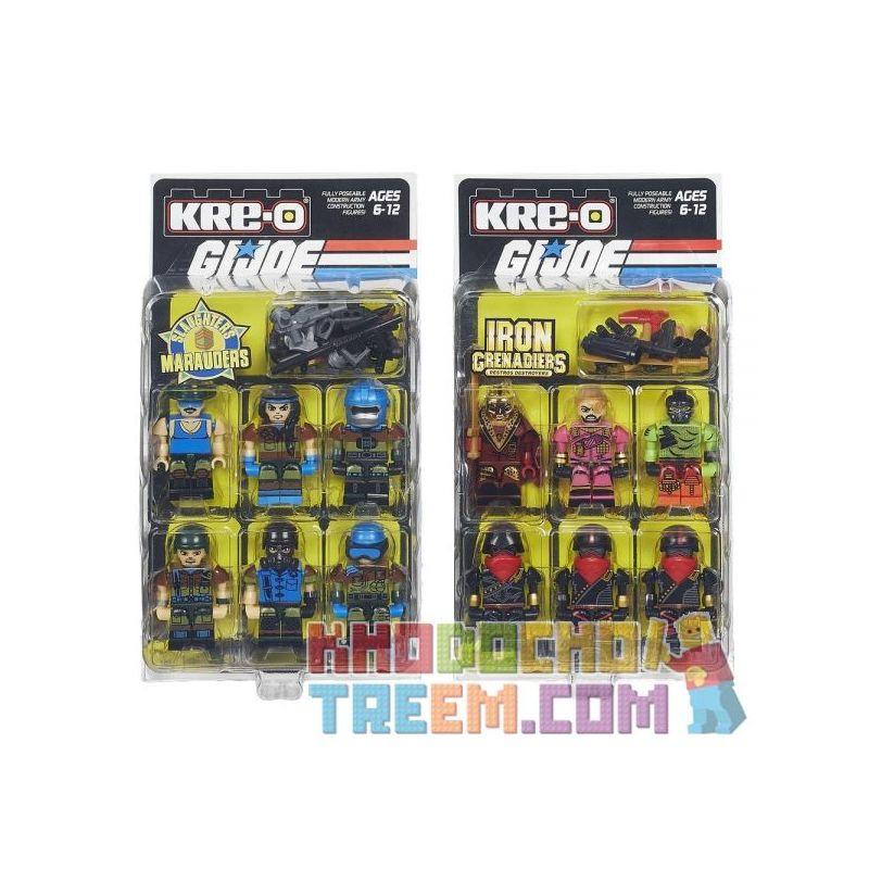 KRE-O B4672 4672 Xếp hình kiểu Lego Construction Commandos Pack Special Forces Assault Team Gói Commando