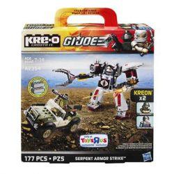 KRE-O A2354 2354 Xếp hình kiểu Lego Serpent Armor Strike Construction Set Special Forces Male Snake Armored Strike Set Bộ Giáp Rắn Khổng Lồ 177 khối