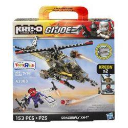KRE-O A3363 3363 Xếp hình kiểu Lego Dragonfly XH-1 Construction Set Special Forces Firefly XH-1 Đom đóm XH-1 153 khối