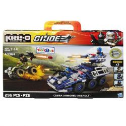 KRE-O A3364 3364 Xếp hình kiểu Lego Cobra Armored Assault Construction Set Special Forces Cobra Armor Raid Cobra Armor Raid. 256 khối