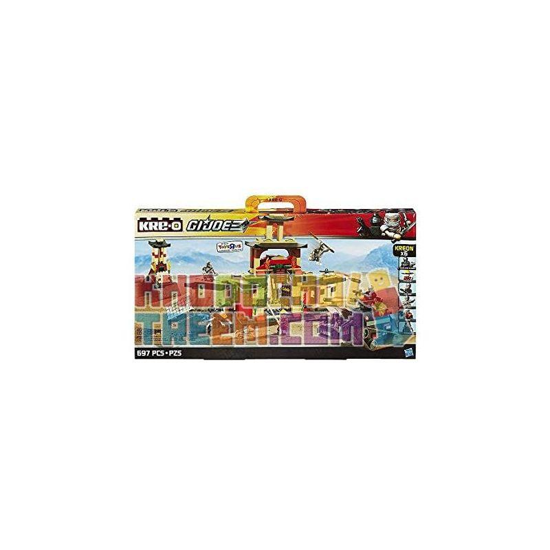 KRE-O A4478 4478 Xếp hình kiểu Lego Arashikage Dojo Special Forces 岚 影 一 道 影 影 道 道