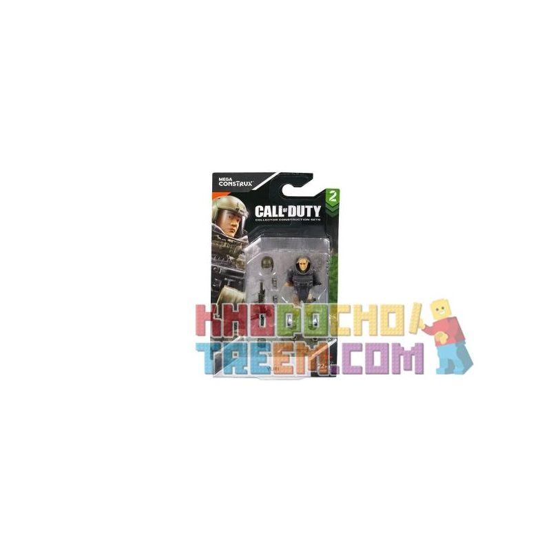 MEGA BLOKS FMG02 Xếp hình kiểu Lego Call Of Duty Yuri Yuri. 25 khối
