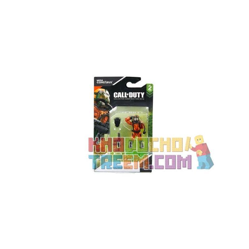 MEGA BLOKS FMG04 Xếp hình kiểu Lego HAZMAT Tech Call Of Duty Chemical Soldier Quân đoàn Sinh Hóa 21 khối
