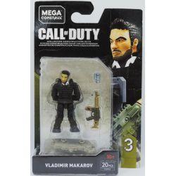 MEGA BLOKS FVF92 Xếp hình kiểu Lego Call Of Duty Vladimir Makarov Vladimir Makarov. 20 khối