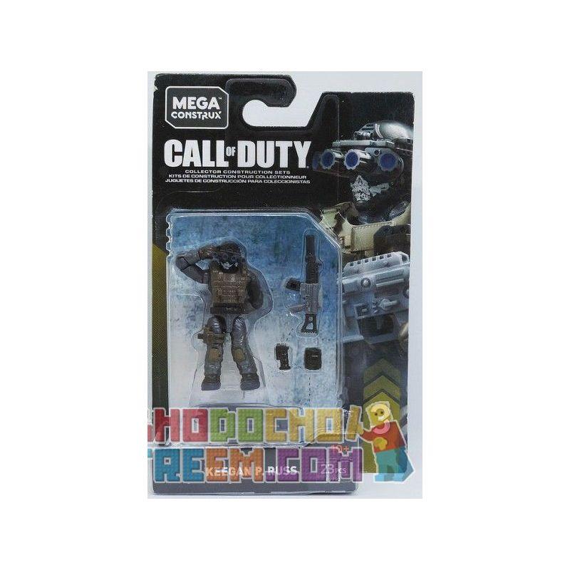 MEGA BLOKS FVF93 Xếp hình kiểu Lego Call Of Duty Keegan P. Russ Keegan P. Russ. 23 khối