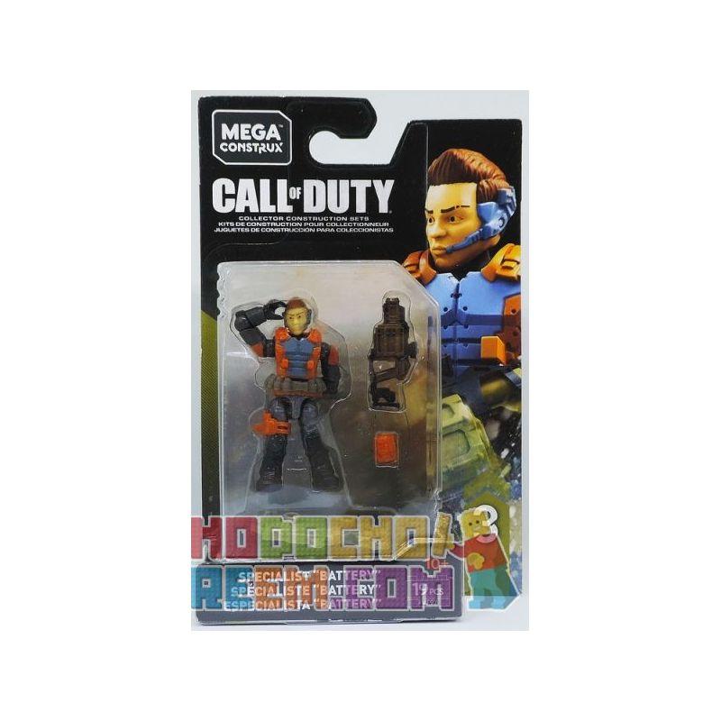 "MEGA BLOKS FVF97 Xếp hình kiểu Lego Specialist ""Battery"" Call Of Duty Special Forces ""Battery"" Lực Lượng đặc Biệt ""Pin"" 19 khối"