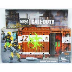 MEGA BLOKS FVG03 Xếp hình kiểu Lego Hazmat Lab Armory Call Of Duty Biochemical Laboratory Army Kho Vũ Khí Phòng Thí Nghiệm Sinh Hóa 80 khối