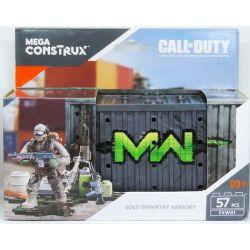 MEGA BLOKS FXW81 Xếp hình kiểu Lego Solo Infantry Armory Call Of Duty Individual Armory Kho Vũ Khí Cá Nhân 57 khối