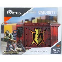 MEGA BLOKS FXW82 Xếp hình kiểu Lego Solo Mercenary Outpost Call Of Duty Mercenary Forever Tiền đồn Lính đánh Thuê 52 khối