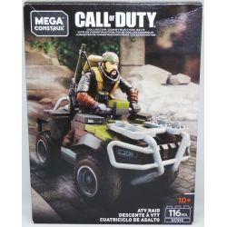 MEGA BLOKS GCN95 Xếp hình kiểu Lego ATV Raid Call Of Duty All-plasmon Xe địa Hình đột Kích 116 khối