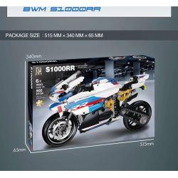 QIZHILE 85003 Xếp hình kiểu Lego TECHNIC BMW S1000RR BMW S1000RR. 900 khối
