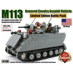 BRICKMANIA 1010B Xếp hình kiểu Lego MILITARY ARMY M113 Armored Cavalry Assault Vehicle M11 Armor Assault Truck Xe Tấn Công Bọc Thép M113 503 khối