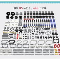 ZMROBO 2106 Xếp hình kiểu Lego TECHNIC Defender Wisekit Defender Xiao Weiqi Hậu Vệ Little Wichi 446 khối