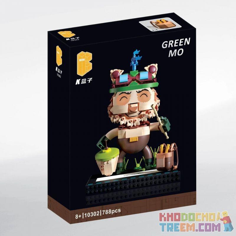 KBOX 10302 Xếp hình kiểu Lego Green MO League Of Legends Plenty Rất Nhiều 788 khối