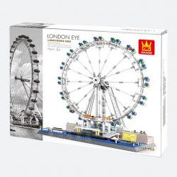 DR.LUCK 6215 WANGE 6215 Xếp hình kiểu Lego CREATOR The London Eye London Eye. 1528 khối