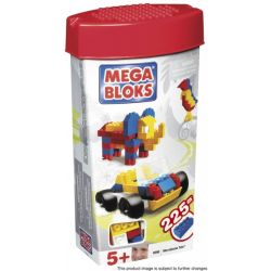 MEGA BLOKS 250 Xếp hình kiểu Lego Microblocks Tote Spray Di động Siêu Nhỏ 225 khối