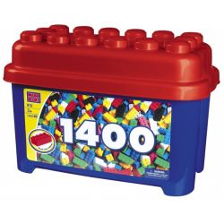 MEGA BLOKS 910 Xếp hình kiểu Lego Micro Bloks Giga Bucket Thùng Microbillion 1400 khối