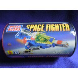 MEGA BLOKS 9254 Xếp hình kiểu Lego CITY Space Fighter Máy Bay Chiến đấu Không Gian 104 khối