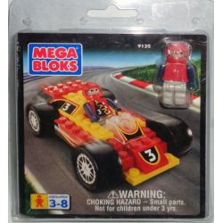 MEGA BLOKS 9132 Xếp hình kiểu Lego CITY Race Car Xe đua 34 khối