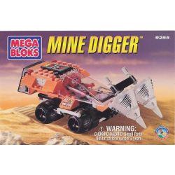 MEGA BLOKS 9255 Xếp hình kiểu Lego CITY Mine Digger Mine Car Xe Tải Khai Thác 72 khối
