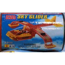 MEGA BLOKS 9257 Xếp hình kiểu Lego CITY Sky Glider Air Glider Tàu Lượn Trên Không 83 khối